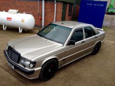 Mercedes Cosworth...Smoked Silver