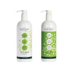 Bioken Enfanti Tea Tree Shampoo 32 oz and Conditioner 32 oz Duo Set >>> Click image for more details. (Amazon affiliate link)