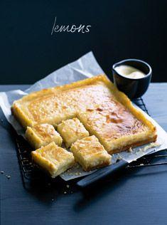Lemon mascarpone cheesecake