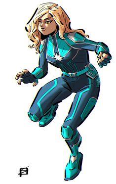 SEDYAS — Captain Marvel.