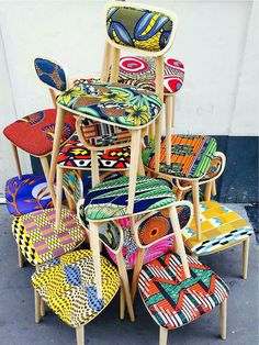 ♡African Prints in Home Decor