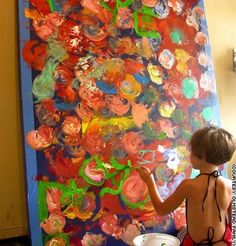 artists, sewing projects, art paintings, marla olmstead, children, paints, kids, painting techniques, antiques