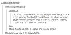 When Sherlocks collide