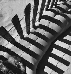 Fernand Fonssagrives - Sand Fence, Lisa Fonssagrives 1930s