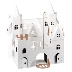 Castle made of cardboard to draw on and play with - Jarig