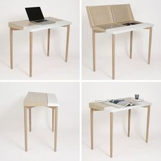 Drafting + Laptop Desk = The Slope Desk | Apartment Therapy