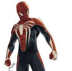 Peter PARKER (SPIDER-MAN)   Earth 1048   Marvel Fan ART Marvel Dc, Marvel Fan Art, Marvel Heroes, Spiderman Art, Amazing Spiderman, Marvel Comic Character, Marvel Characters, Spaider Man, Dc Comics