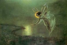 Fairy, Spirit of the Night, John Atkinson Grimshaw