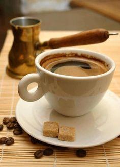 ♔ 'Kalimera' ~ Greek coffee