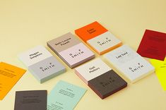 """A brilliant rebrand project by Made Thought aimed to ""better reflect the legacy, stature and future ambitions"" of paper company G . F Smith, and boy did it do a good job. New colours and the Humanist Sans typeface were introduced, as well as a ""curators symbol"" that succinctly moved the brand forward while reminding us of its heritage."""