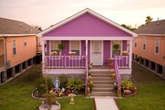 Habitat for Humanity, New Orleans: we helped construct a new house in the Musicians' Village after Hurricane Katrina.