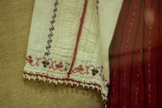 En: I've posted before traditional Romanian Costumes that you can find at Constanta's Folk Art Museum. Not a lot of people know how the traditional of Dobrogea looks like and I want … Romania, Costumes, Popular, Blouse, Folk Clothing, Moon, Bulgaria, Black, Embroidery