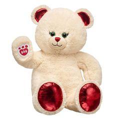 Personalized Sweat Buttercream Teddy Bear | Build-A-Bear® Build A Bear Online, Big Stuffed Animal, Stuffed Animals, Stuffed Toys, Personalised Teddy Bears, Cute Pajama Sets, Best Kids Toys, Bear Wallpaper, Blue Gift