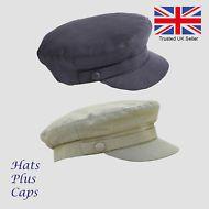 1ea8478fb01 Failsworth 100% Irish Linen Breton Cap Summer Mariner Fiddler Greek Sailor  Hat Sailor