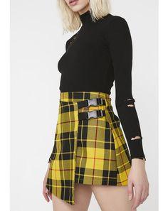 db814ee45c LOVE TOO TRUE. Gothic FashionVintage FashionPunk Rock FashionPlaid Mini  SkirtMini ...