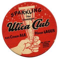 Utica Club. West End Brewing Co., Utica, N.Y.