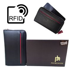 Prime Hide Celino RFID Blocking Leather Smart Phone Purse 2406