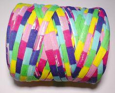 Woolpedia Textilgarn 450g Eco-Garn Regenbogen