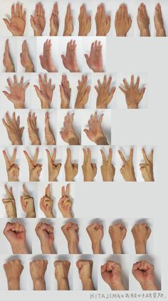 손 그리는 방법(기본):