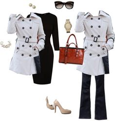 """Winter Trench Coat!"" by alifarrell on Polyvore"