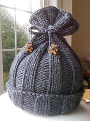 Ravelry: Rib-Knit Baby Hat pattern by Jennifer Sauselein