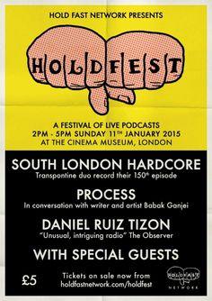Hold Fest - podcast festival in London