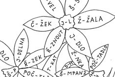 Jarní barevná čeština – Dětské stránky Worksheets, Diy And Crafts, Language, Activities, Education, Learning, School, Google, Dyslexia
