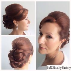Up do hair style | mother of the bride | LMC Beauty Factory