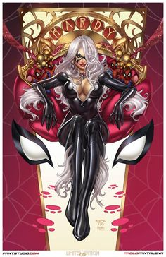 Black Cat - Felicia Hardy by Paolo Pantalena, colours by Ula Mos *