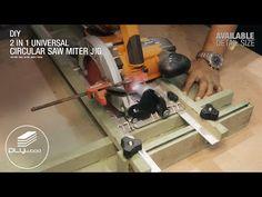 2 in 1 Universal Circular Saw Miter Jig - circular saw, palm router & router - YouTube Circular Saw, Palm, Woodworking, Youtube, Tables, Diy, Woodworking Tools, Mesas, Bricolage