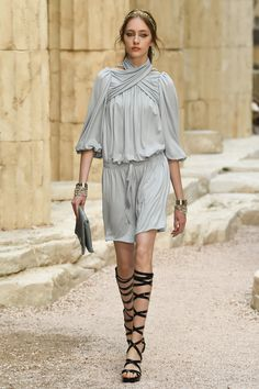 Chanel Resort 2018 Muted Blues