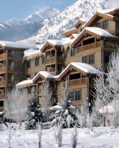 Teton Mountain Lodge & Spa - Teton Village, Wyoming #Jetsetter