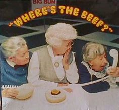 "70's commercials | Wendy's Brings Back ""Where's the Beef?"" (Plus Six Unforgettable Burger ..."