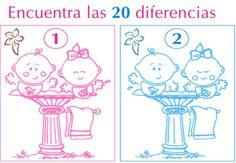 Encuentra las 20 diferencias ….