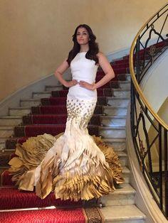Cannes 2015: Aishwarya Rai Bachchan is a vision in white at a media meet | PINKVILLA