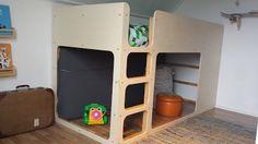 Ikea Kura Hack - kinderslaapkamer - hoogslaper - bed
