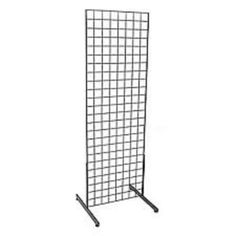 Metal Net, Metal Grid, Outdoor Privacy Screen Panels, Cube Decor, Art Studio Room, Antique Booth Ideas, Grid Panel, Wall Groupings, Slat Wall