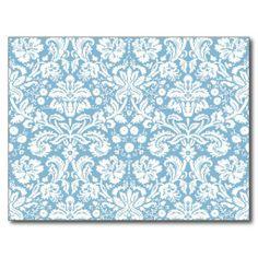 blue  damask | blue blue damask light blue pale blue white pastel fancy damask ...