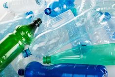 A dozen ways to recycle plastic bottles in the garden, saving money, helping the environment. From self sufficient author Dick Handscombe who wastes nothing Recycled Bottles, Recycle Plastic Bottles, Plastic Food Packaging, Drink Containers, Recycling Center, Circular Economy, Help The Environment, Plastic Resin, Ways To Recycle