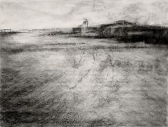 Pin by edward obermueller on charcoal drawings in 2019 графика. Charcoal Art, Charcoal Drawings, Landscape Drawings, Landscapes, Artist Sketchbook, Artwork Images, Sketchbook Inspiration, Painting & Drawing, Printmaking