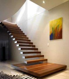 escada de madeira com vidro - Pesquisa Google