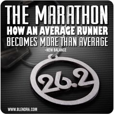 My advice to a pre-marathoner. The marathon. How an average runner becomes more than average.