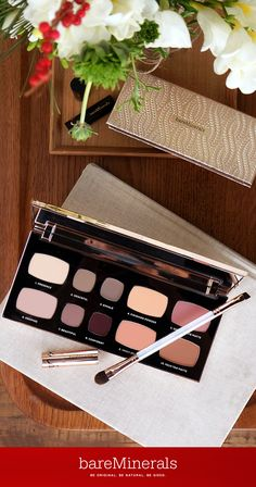Amid all the shimmer, glimmer and sparkle of the holiday season, let's take time for a matte moment. Natural-looking beauty is a real gift, and our all-matte Ready Be Beautiful eyeshadow and palette has 10 stunning shades for eyes and cheeks that look good on any beautiful skin tone. Filled with all the makeup essentials, this perfectly portable palette makes a great gift. Shop now at bareMinerals.com