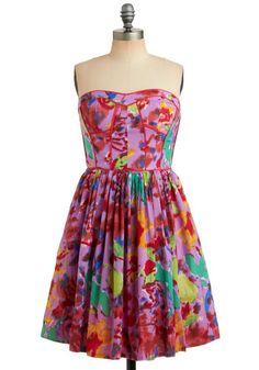 Tropical Punch Dress