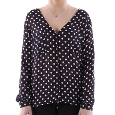 Camicia pois georgette Madonna donna - € 29,90 | Nico.it - #nicoit #nicoabbigliamentoecalzature #newarrivals #newcollection #summerspring #ss15 #summer #spring #outfitoftheday #ootd #bestoftheday #lookoftheday #lotd #cute #love #like #fashionista #madonna #pois #shirt