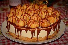 Tort ecler cu crema de vanilie