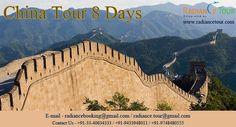 China Tour 8 Days. http://www.radiancetour.com/tour-detail/65/china-tour---8-days