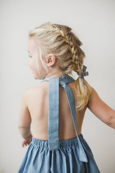 Click to shop classic heirloom bows by Free Babes Handmade. Made with love in the USA and guaranteed for life. Created to foster your little girls free spirited style. // Clothing by Nel and Witt, Photo by Coryn Nelson Photography.