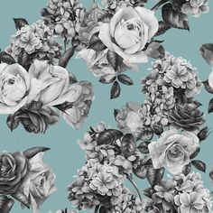 """Found it at Wayfair - Mary Removable 5' x 20"""" Floral Wallpaper"""