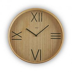 5cc320b4b47c WOODEN WALL CLOCK  wooden  wall  clock  versa  home RELOJ PARED MADERA